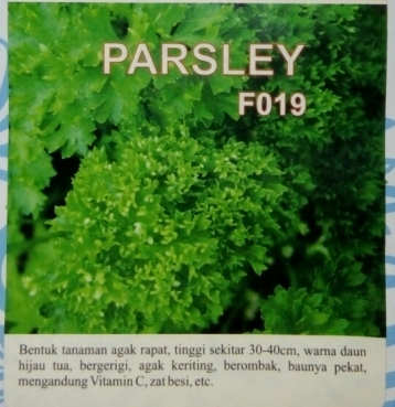 parsley f019