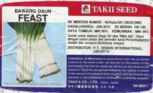 Bawang Daun FEAST