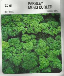 Parsley Moss Curled